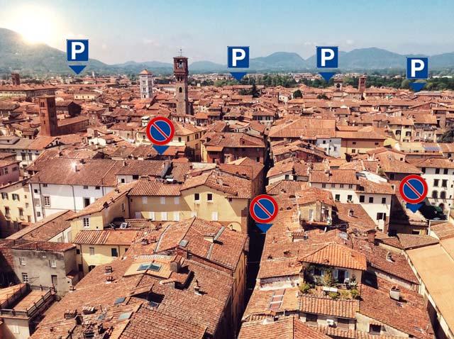 Dove parcheggiare a Lucca