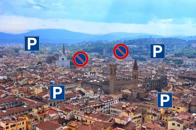 Dove trovare garage e parcheggio a Firenze, parcheggiare facile