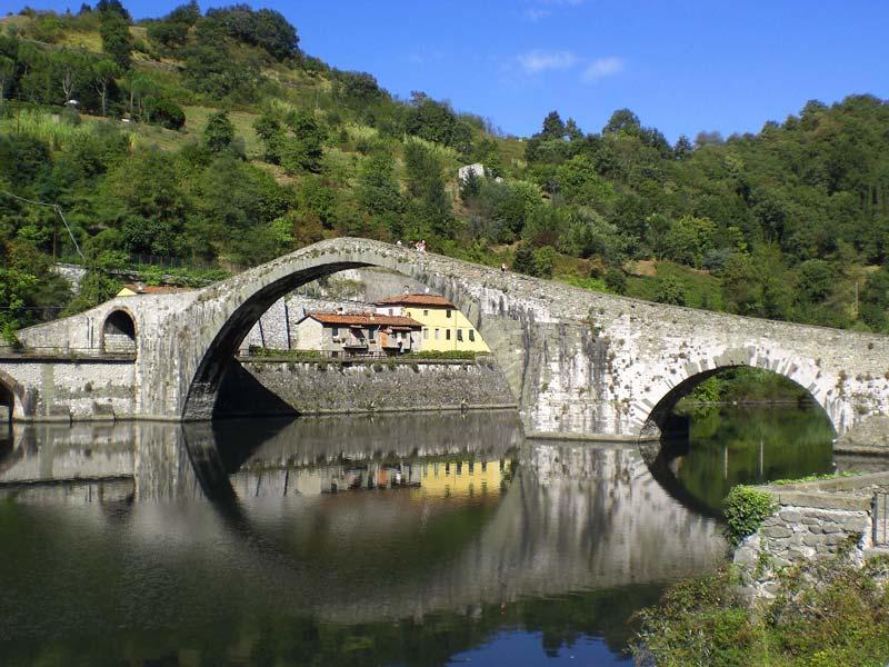 Ponte del diavolo in Garfagnana