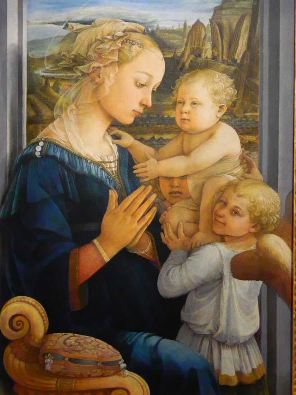 Musei di Firenze Filippo Lippi Galleria degli Uffizi Firenze