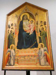 Musei di Firenze Giotto galleria degli Uffizi a Firenze
