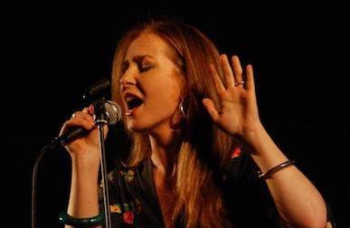 La cantante jazz Michela Lombardi