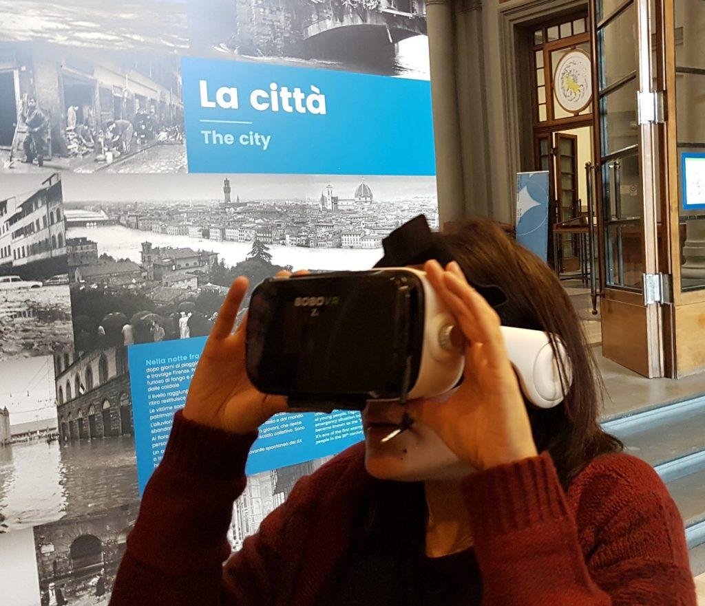 Alluvione del '66, il tour virtuale alla Biblioteca Nazionale di Firenze