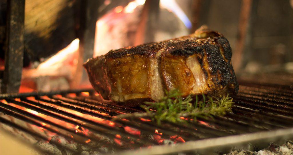 La tipica bistecca alla fiorentina