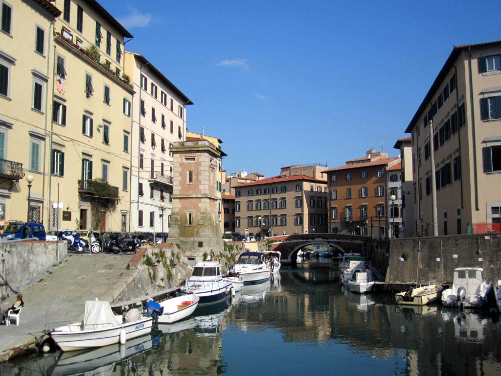 Un tipico scorcio di Livorno