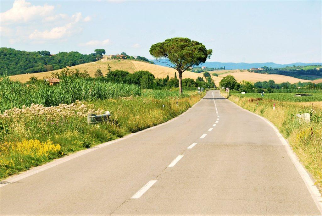 Tipico paesaggio toscano
