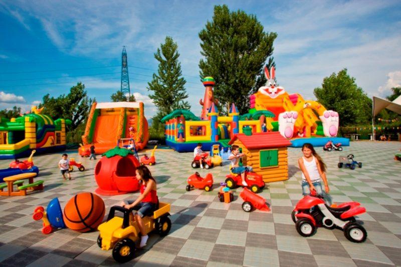 Happy Park nel Parco dei Renai di Signa (Fi)