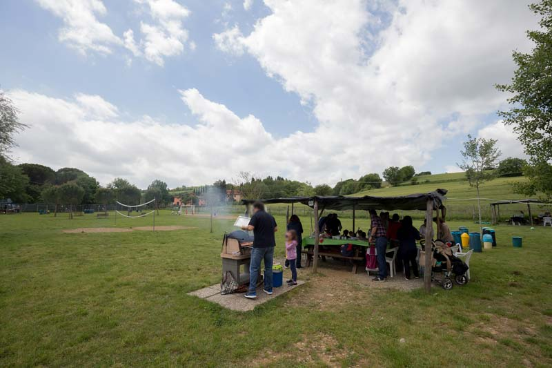 Bramasole area barbecue