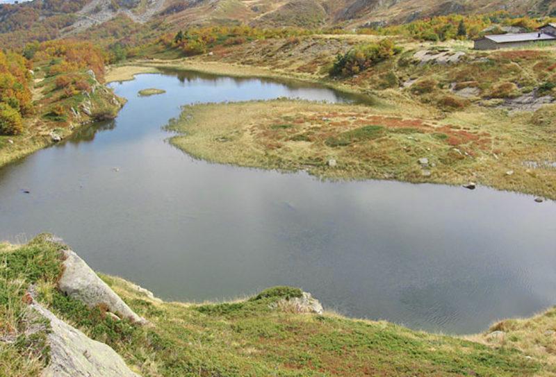 Il Lago Nero sulla montagna pistoiese