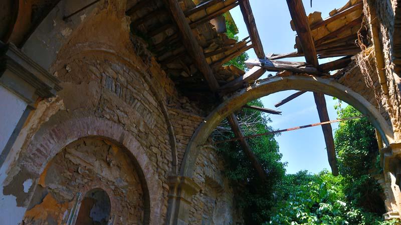 borgo abbandonato di castiglioncello