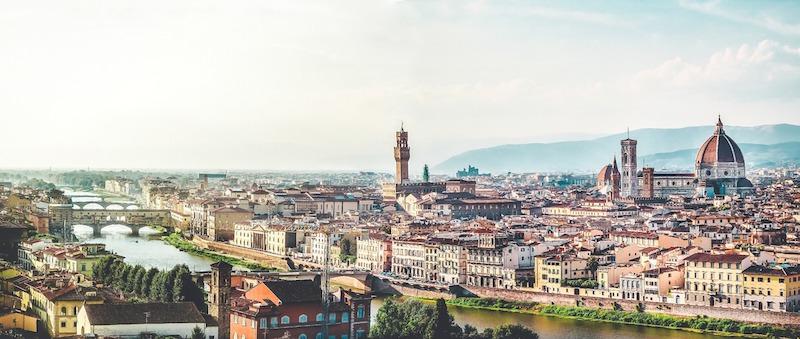Attrazioni ed itinerari a Firenze panorama della città