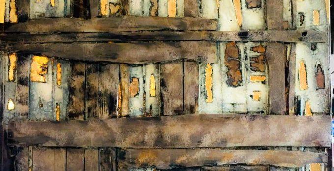 Opere d'arte di Andrea stella in mostra in Palazzo Vecchio