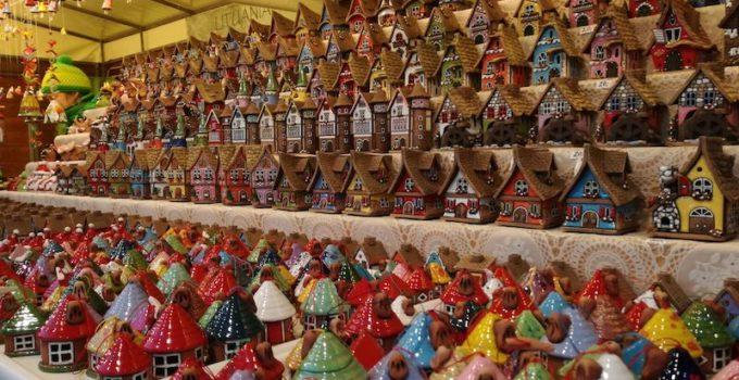 Mercato di Natale in piazza Santa Croce