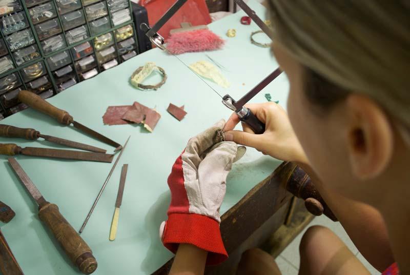 artigianato gioielli clizia laboratorio