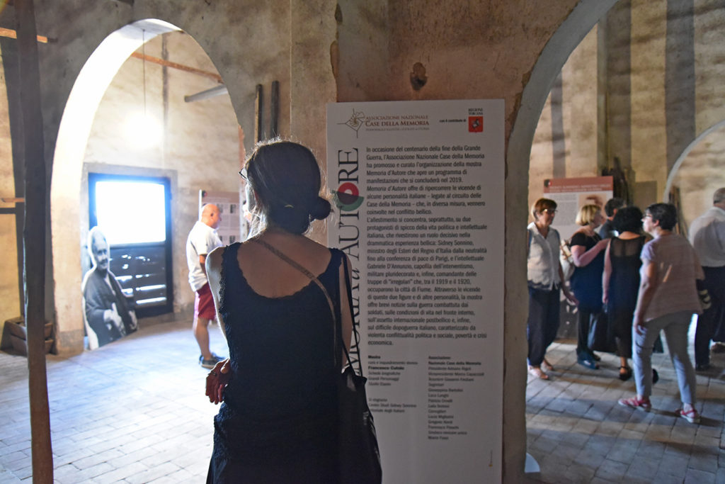 Centenario della Grande Guerra, la mostra nella vinsantaia