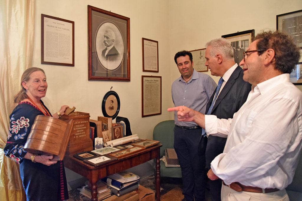 Centenario della Grande Guerra: la visita all'archivio Sonnino