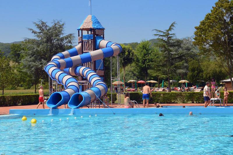 Il centro piscine Mugello di Borgo San Lorenzo