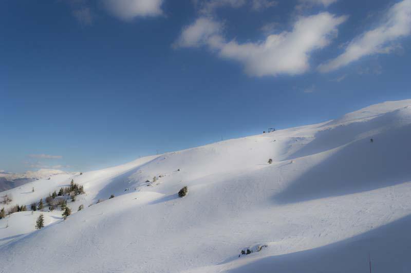 sciare in toscana sull'Abetone piste da sci