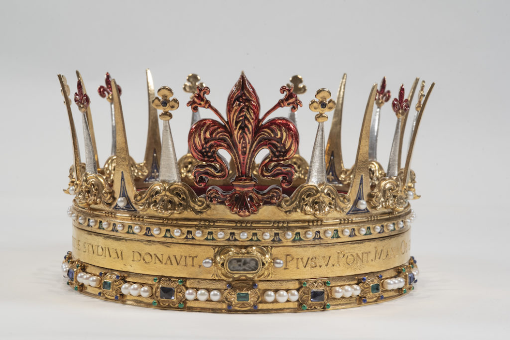 L'opera d'arte di Penko: la Corona granducale
