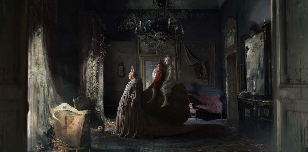 Pinocchio nella casa della fata turchina costumi del film di garrone