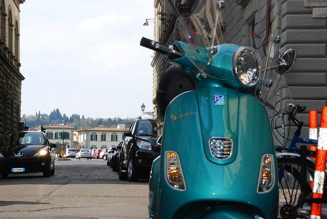 muoversi a Firenze con vespa